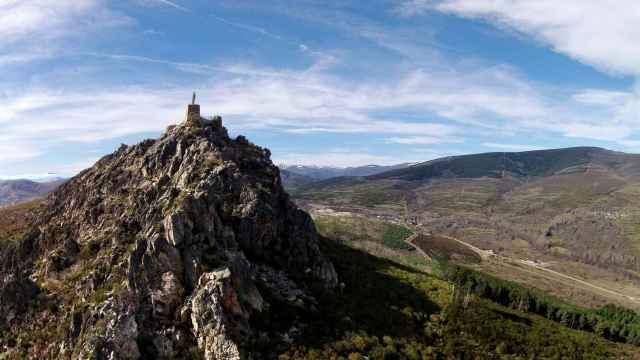 Domo volcánico de Peña Ramiro, en Truchas