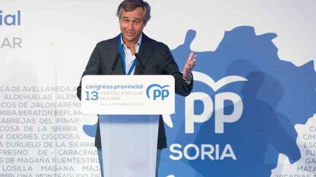 Antonio González Terol, en el XIII Congreso Provincial del PP de Soria