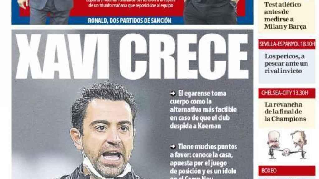 Portada Mundo Deportivo (25/09/21)