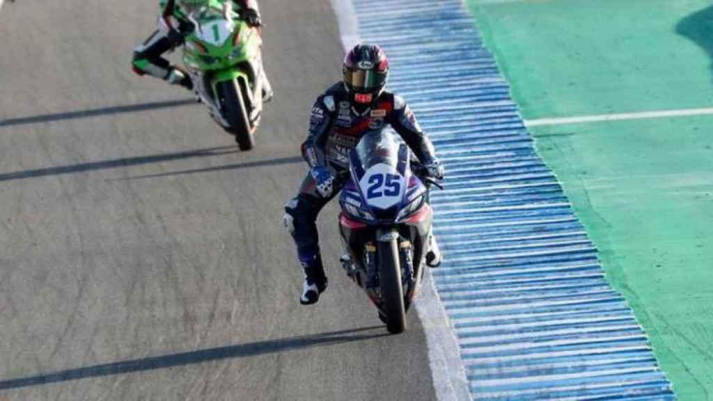 Dean Berta Viñales, en Jerez
