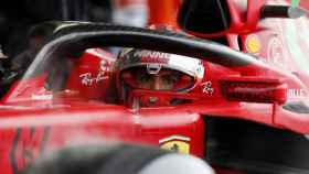 Carlos Sainz Jr., en el Gran Premio de Rusia de F1