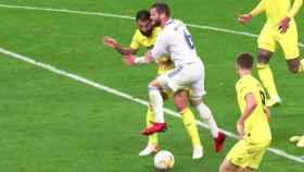 Penalti no pitado sobre Nacho