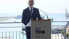 Fernando Grande-Marlaska, ministro del Interior, en Málaga este sábado.