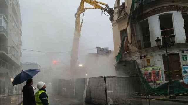 La lucha por el centro de Málaga a veces se queda corta.