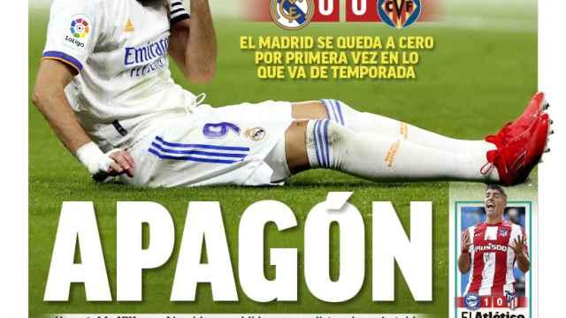 La portada del diario MARCA (26/09/2021)