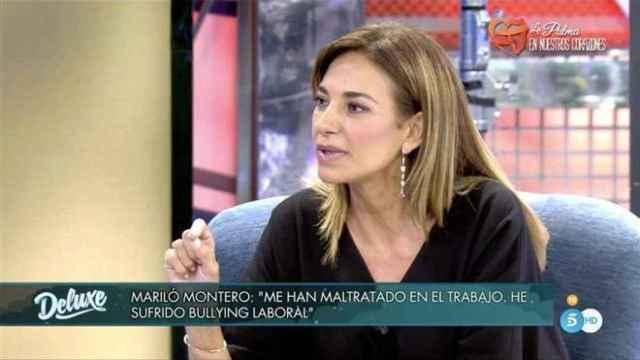 """Mariló Montero relata en 'Sábado Deluxe' el """"acoso"""" que vivió en 'La mañana de La 1'"""
