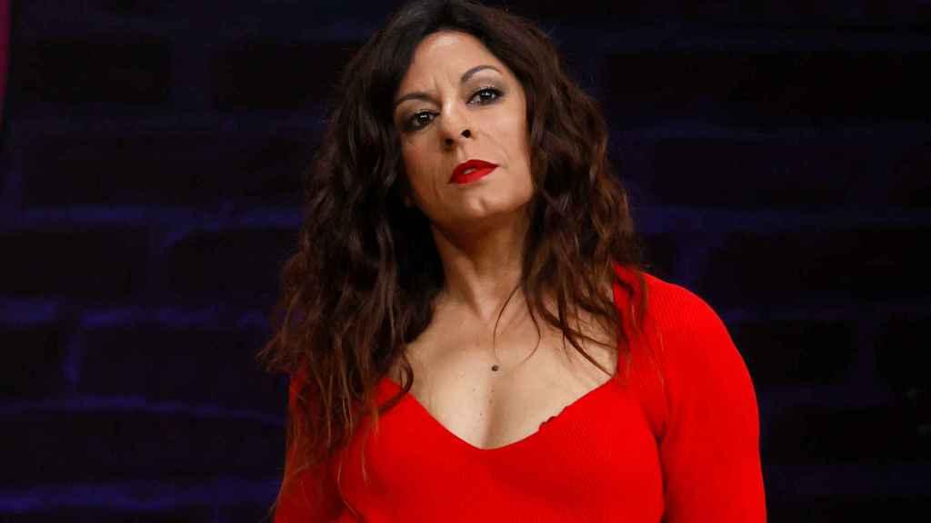 Cristina Medina, actriz de 'La que se avecina', en una presentación ante los medios.