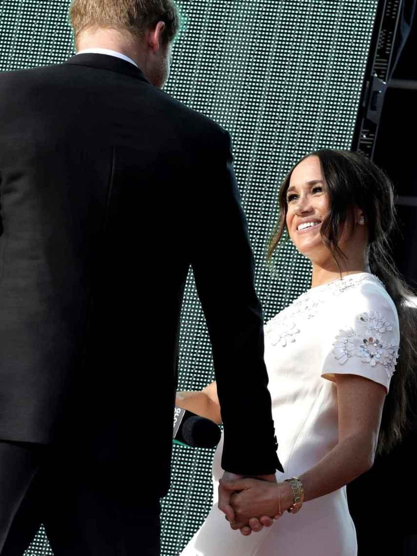 Harry y Meghan han mostrado su complicidad y su compromiso juntos en Nueva York.