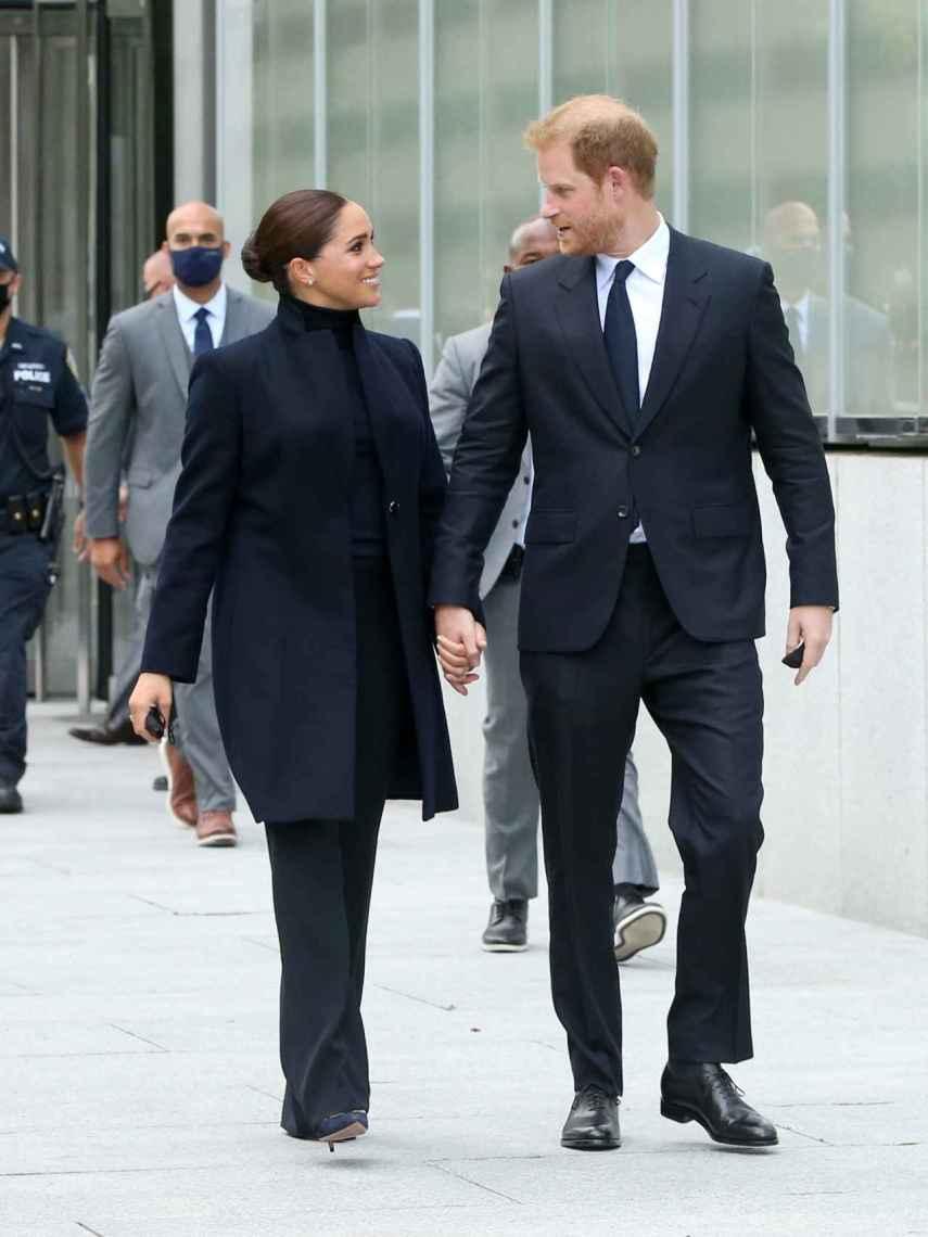 Meghan y Harry se han reunido con las autoridades de las Naciones Unidas en Nueva York.