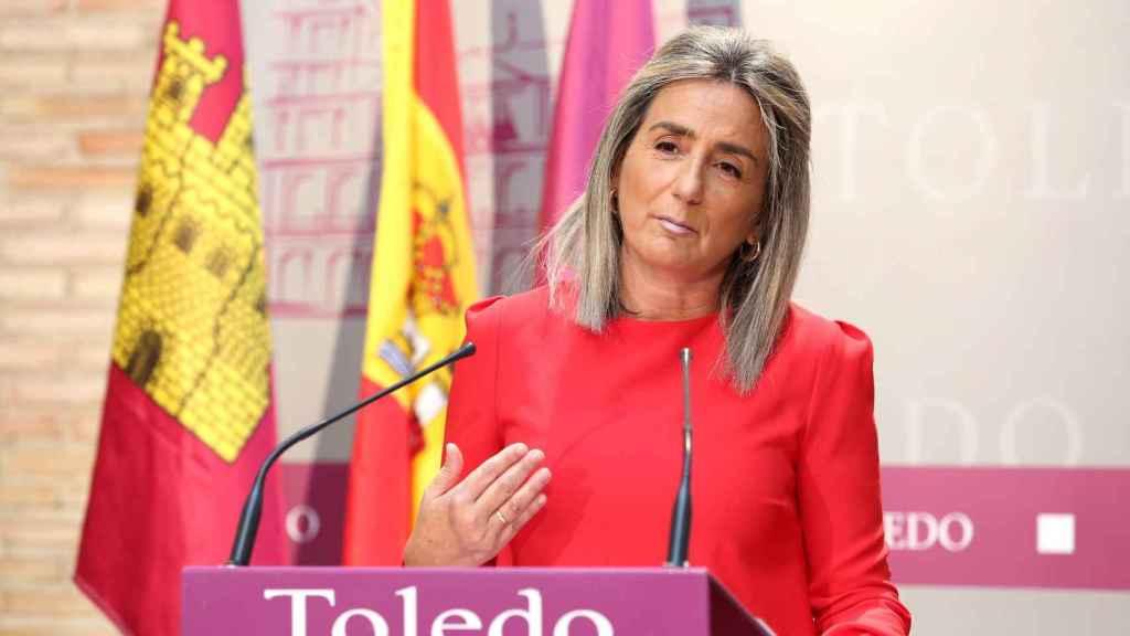 Milagros Tolón, alcaldesa de Toledo. Foto: Óscar Huertas