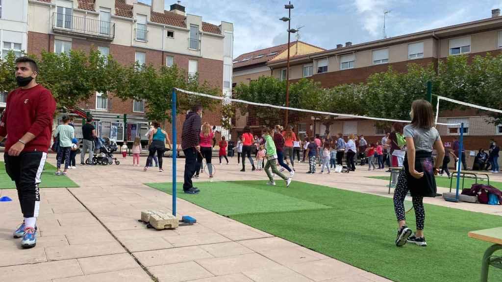 Las actividades deportivas contaron con numerosos participantes