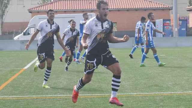 Imágenes del partido de fútbol Unionistas de Salamanca y Deportivo de La Coruña