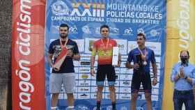 Dos policías locales de León triunfan en el Campeonato Nacional de Mountainbike