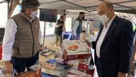Más de 3.000 personas visitan la exitosa primera edición de la Feria de Alimentos de Segovia