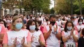La consejera de Familia e Igualdad de Oportunidades, Isabel Blanco, participó en la carrera