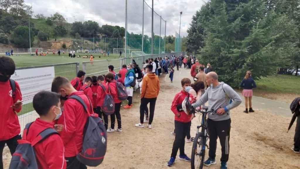 Campos municipales de fútbol
