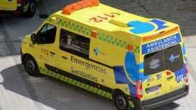 Imagen de archivo de una ambulancia del Sacyl