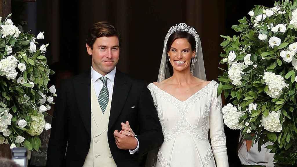 Ralph Worthington y Astrid de Liechtenstein, convertidos ya en marido y mujer | Foto: Gtres