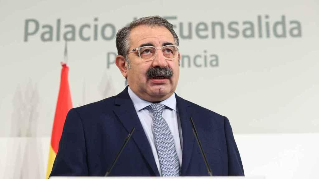 Jesús Fernández Sanz, consejera de Sanidad de Castilla-La Mancha. Foto: Óscar Huertas