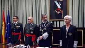 Carlos Lesmes, presidente del CGPJ, en la inauguración del curso judicial castrense en 2019./