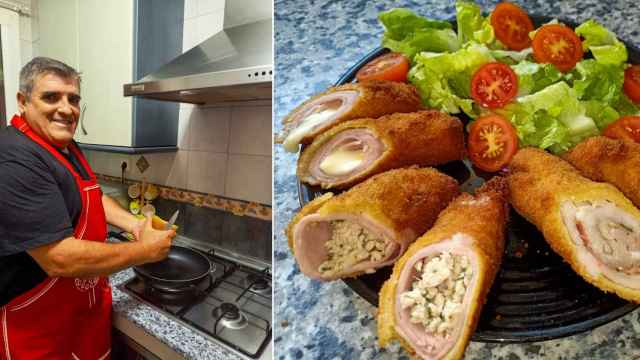 Cocina casera con Miguelito Miguelito: el 'gastroyoutuber' malagueño que se promociona por el barrio de La Victoria