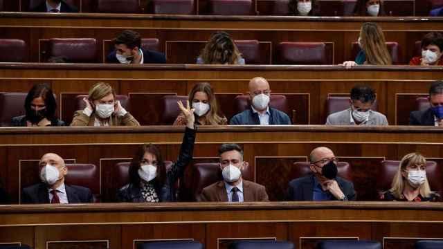 Votación en el Congreso de los Diputados.
