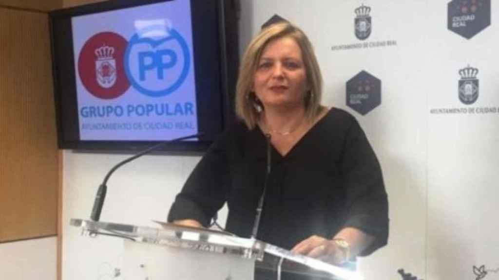 Aurora Galisteo, concejala del PP en el ayuntamiento de Ciudad Real