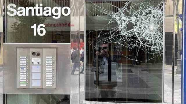 Consecuencias del ataque de la sede de Vox en Valladolid