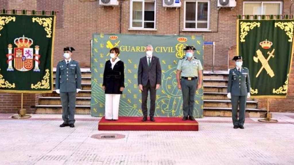 Toma de posesión de la teniente coronel Cristina Moreno