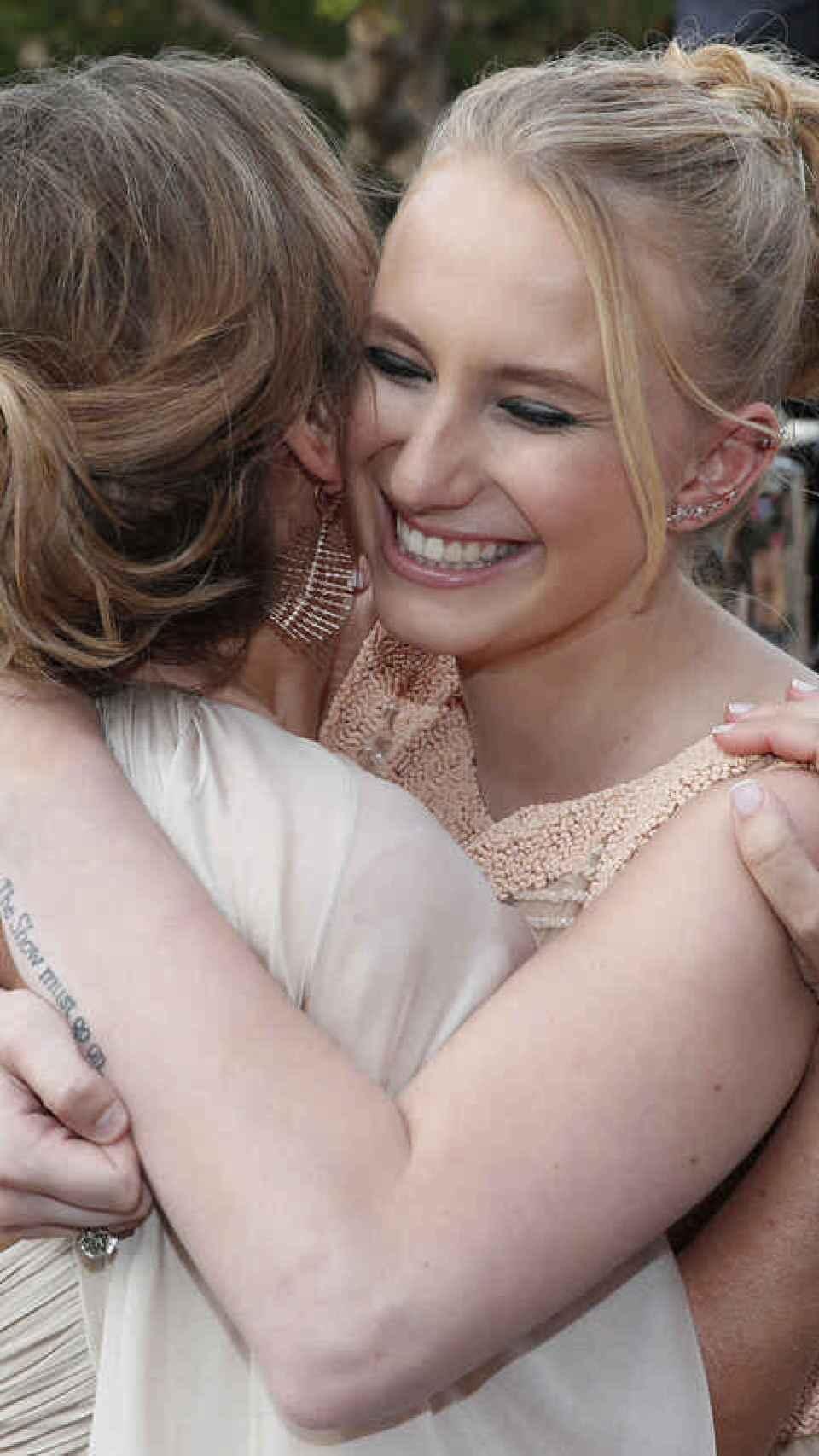 Sarah es actualmente uno de los mayores apoyo de su madre tras su separación y sus problemas de salud.