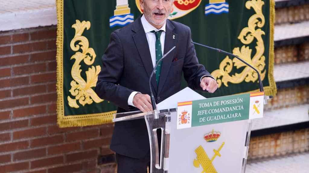 Fernando Grande-Marlaska, en el acto de Guadalajara