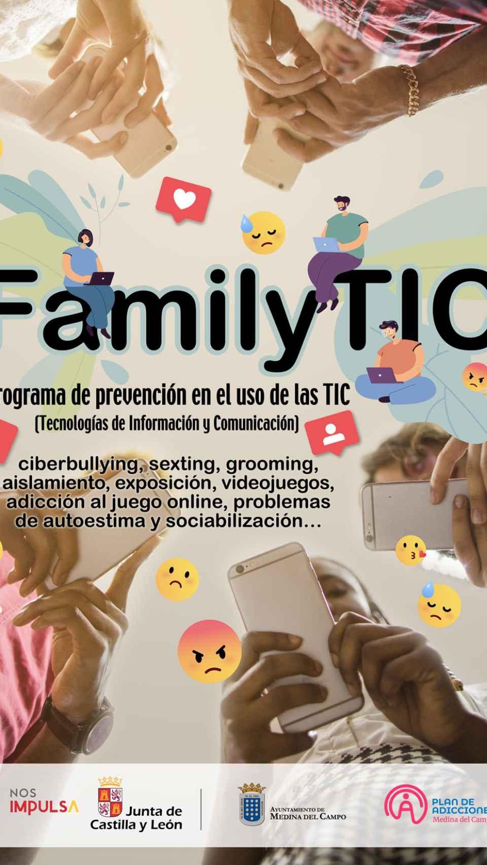 FamilyTic, un programa para familias y el buen uso de las nuevas tecnologías