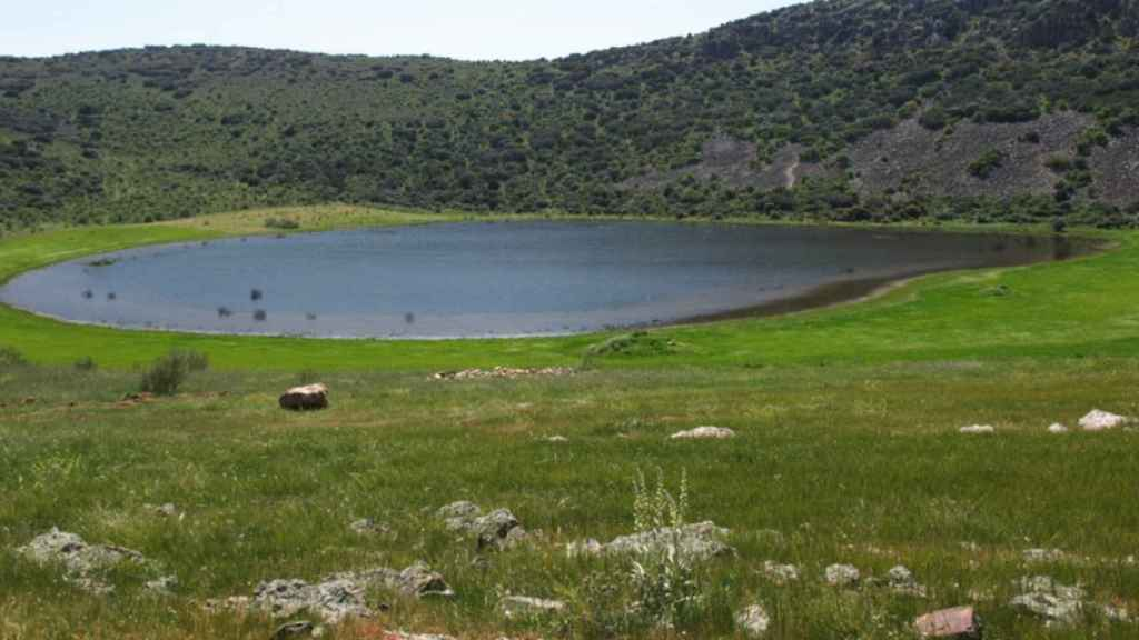 Laguna Volcánica de Michos, en Abenójar