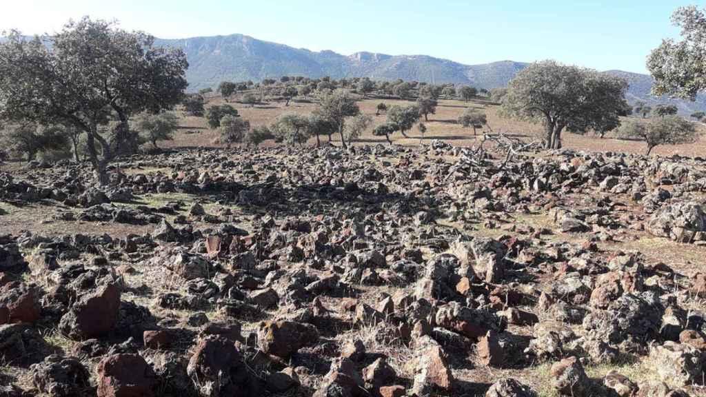 Volcán de Alhorín, en Solana del Pino.