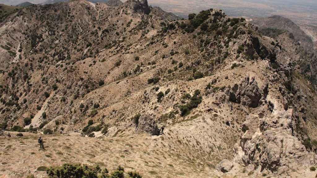 Los Castillejos Volcánicos de la Bienvenida, en Almodóvar del Campo