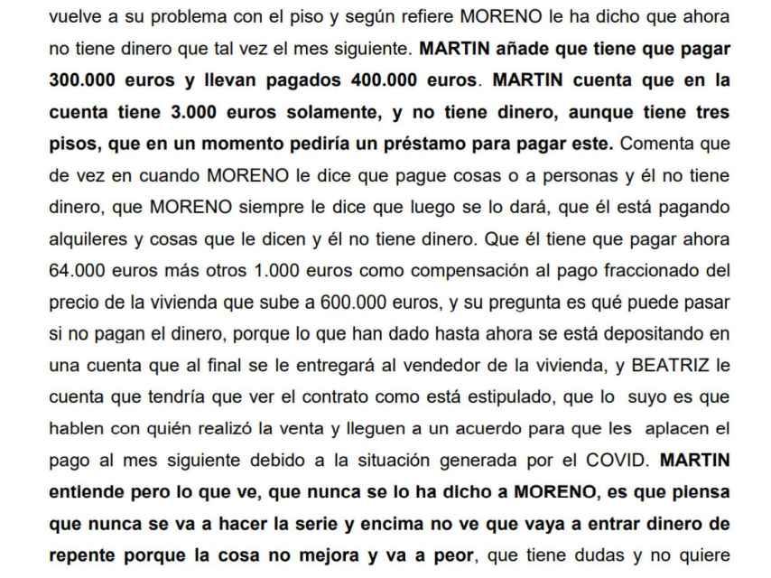MartinCzehmester comenta a Beatriz Sánchez las dificultades que tiene para pagar su nueva casa en la República Checa.