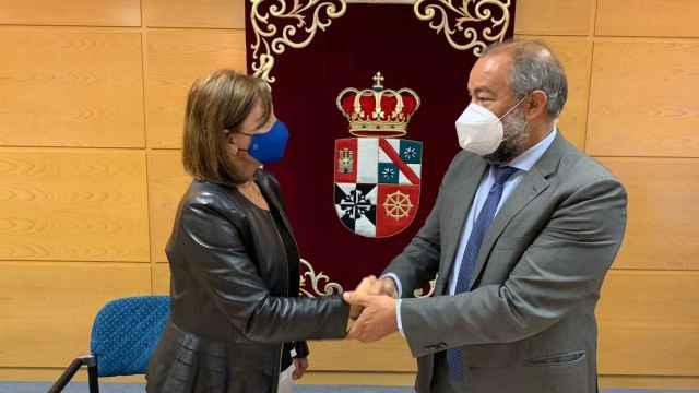 Julián Garde y María Belén Camba.