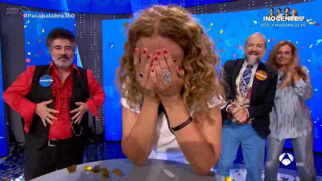 Sofía ha completado 'El rosco' en su programa 62.
