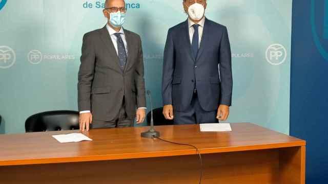 Javier Iglesias y Carlos García Carbayo