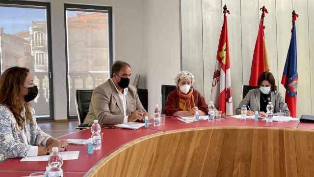 Reunión de la Junta de Seguridad en Guijuelo