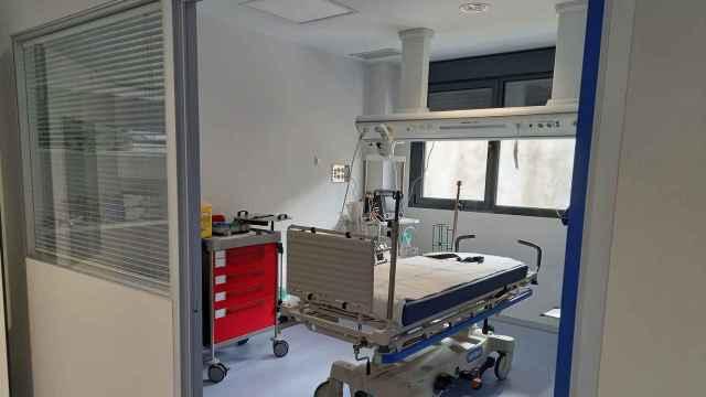 Dependencias del nuevo hospital de Salamanca
