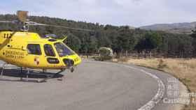 Helicóptero del Servicio de Emergencias 112 de Castilla y León