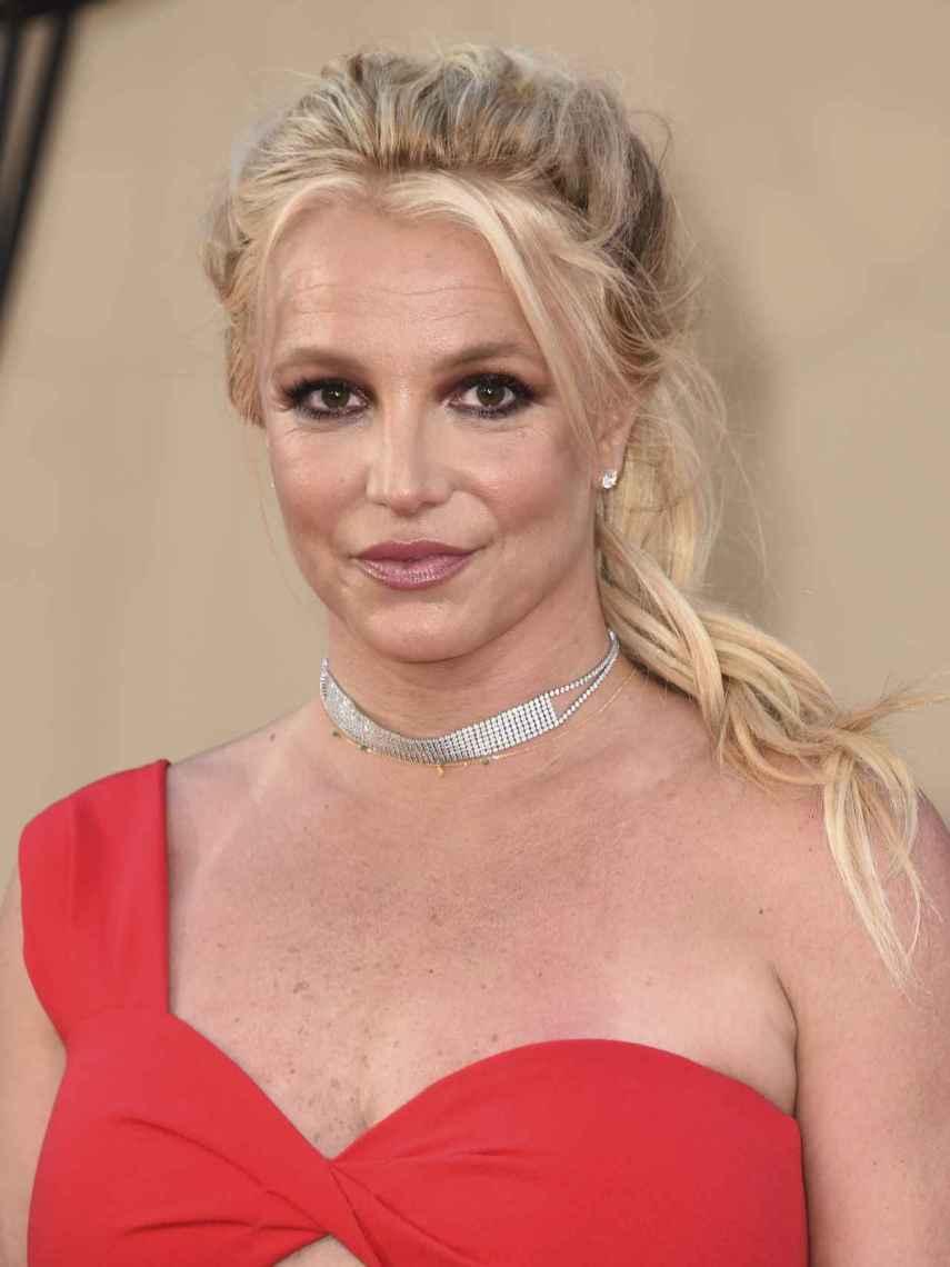 Britney Spears durante un acto en Los Ángeles.