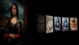 Vista la exposición 'Leonardo y la copia de Mona Lisa' en el Museo del Prado.