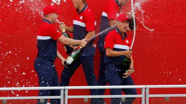 Las imágenes del mundo del deporte: la celebración de Estados Unidos tras aplastar a Europa en la Ryder Cup