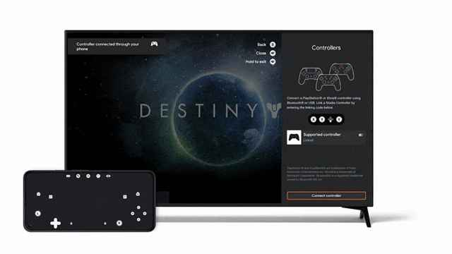Google Stadia te permitirá usar tu móvil como un mando en tu televisor