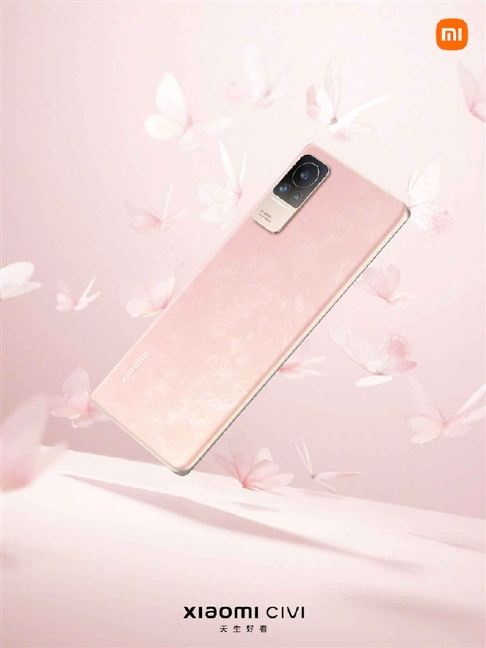 Xiaomi CIVI  en color rosa
