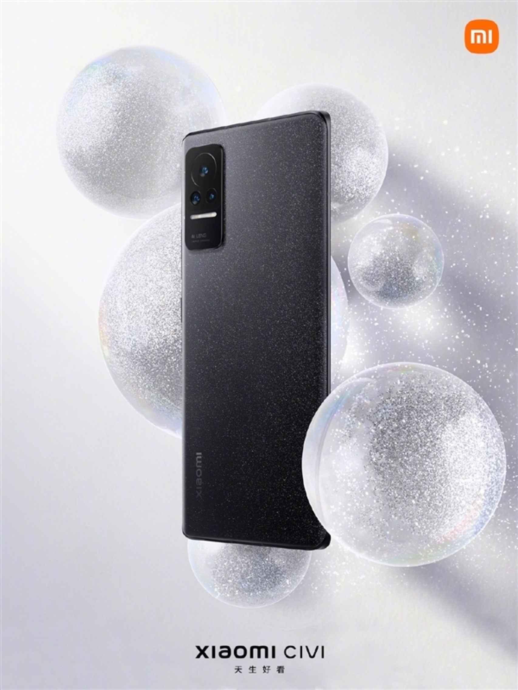 Xiaomi CIVI en color negro