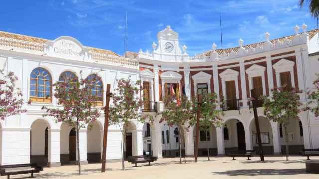 El Ayuntamiento de Manzanares (Ciudad Real).
