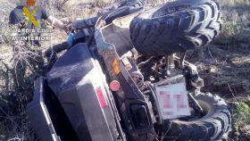 Accidente de quad en  Almonacid